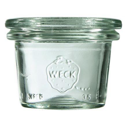 Mini słoik bez pokrywki 35 ml WECK op. 12 szt.