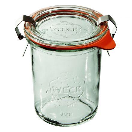 Mini słoik z pokrywką, uszczelką i 2 zapinkami 160 ml WECK op. 12 szt.