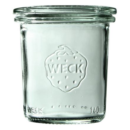Mini słoik bez pokrywki 140 ml WECK op. 12 szt.