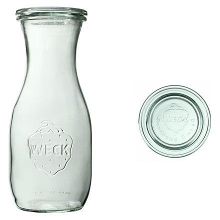 Butelka z pokrywką 530 ml WECK op. 6 szt.