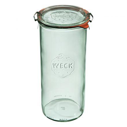 Słoik z pokrywką, uszczelką i 2 zapinkami 1500 ml WECK op. 6 szt.