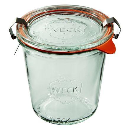 Słoik I z pokrywką, uszczelką i 2 zapinkami 290 ml WECK op. 6 szt.