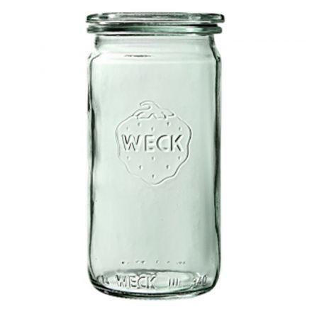 Słoik cylindryczny bez pokrywki 340 ml WECK op. 6 szt.