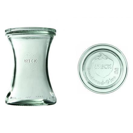 Słoik Deli z pokrywką 370 ml WECK op. 6 szt.