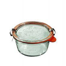 Słoik z pokrywką, uszczelką i 2 zapinkami 290 ml WECK op. 6 szt.