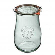 Słoik Tulip z pokrywką, uszczelką i 2 zapinkami 1750 ml WECK op. 4 szt.