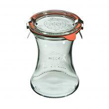 Słoik Deli z pokrywką, uszczelką i 2 zapinkami 370 ml WECK op. 6 szt.